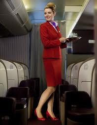 virgin flight attendant