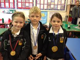 kids with medals