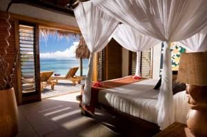 The prefect place for romance...ok, sleep